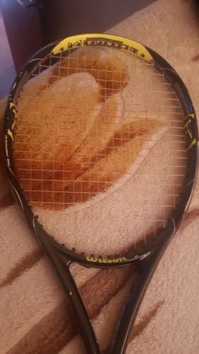 raqueta wilson k factor como nueva