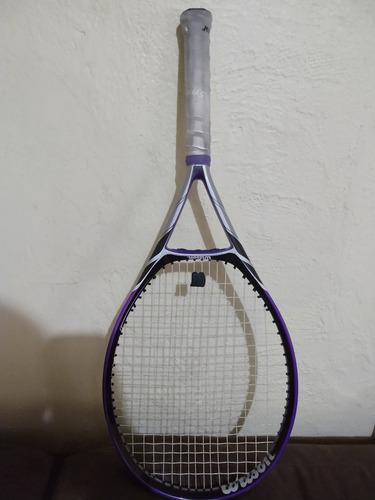 raqueta wilson peso 292 gms (ya encordada)