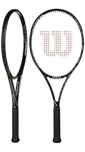 raqueta wilson - wil wrt7164103 blade 104 4 3/8 negro/blanco