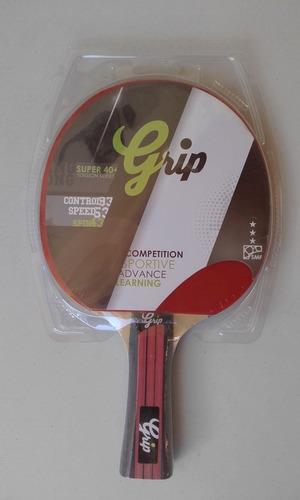 raquetas de ping pong  - marca grip 3 estrellas