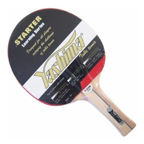 raquetas de ping pong yashima! set de 4 raquetas