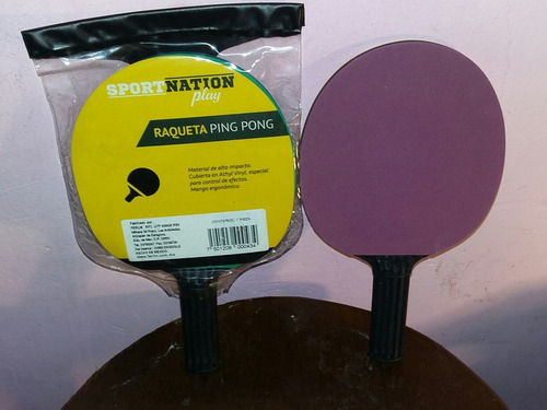 raquetas de pingback pong sport nation