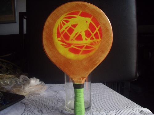 raquetas de playa