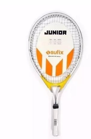 raquetas tenis sufix junior jr niños + funda n°1 nº2 nº3