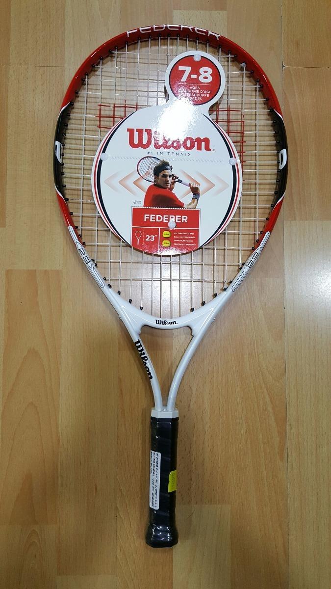148c37c6a98 raquetas tenis wilson federer numero 23 de 7-8 años niños. Cargando zoom.