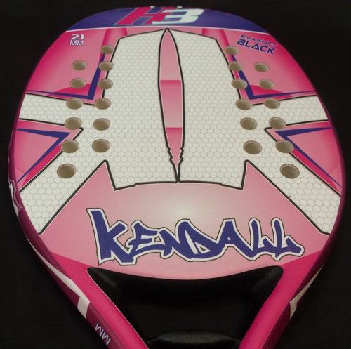 9cb801509 Raquete Beach Tennis Kendall H3 Rosa 21mm Original - R  439