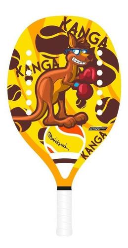 raquete de beach tennis quicksand junior kanga