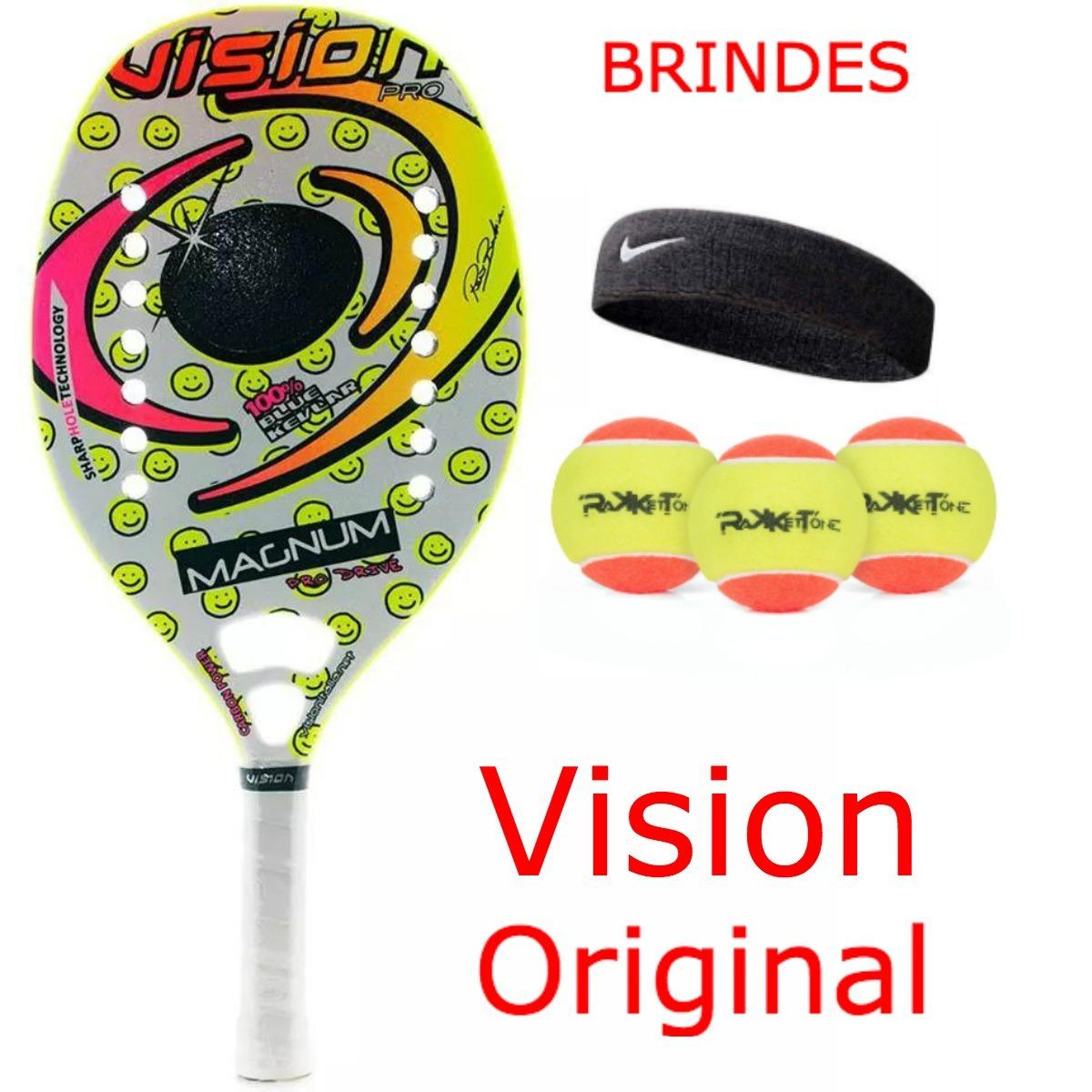 3f9a18cb5 raquete de beach tennis vision magnum 2016 brindes original. Carregando  zoom.
