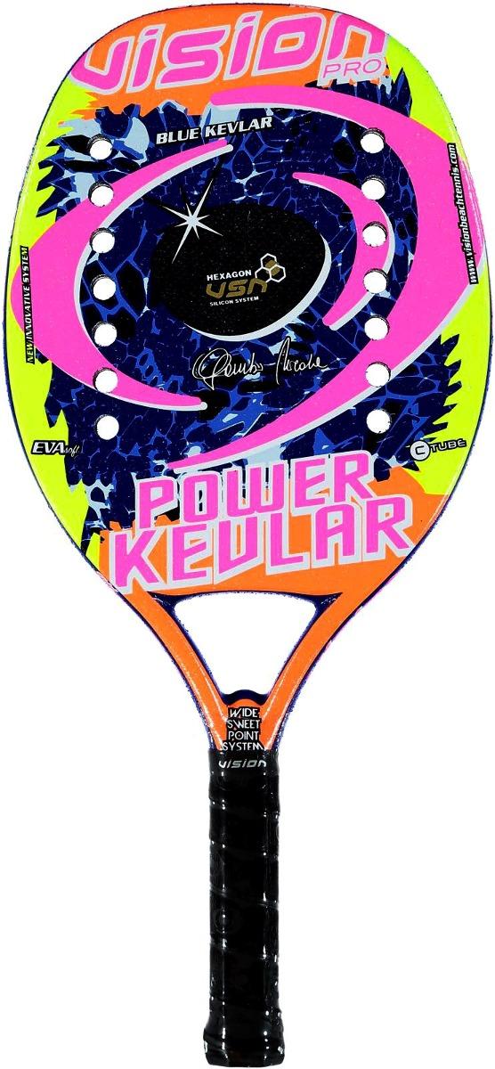 bb1e68d16 raquete de beach tennis vision power kevlar. Carregando zoom.
