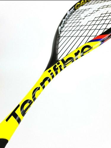 raquete de squash carboflex 125 cannonbal miguel angel