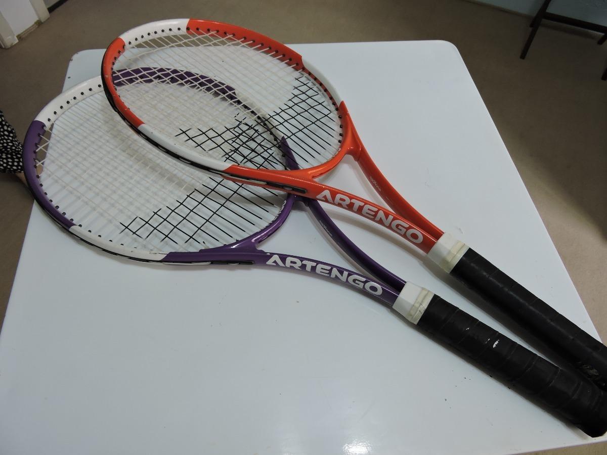1ce94d126 raquete de tenis artengo 700 oxylane usada - par. Carregando zoom.