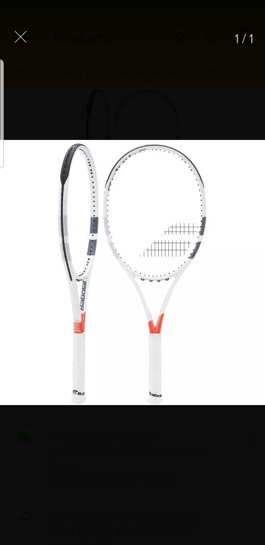 007f72c1e raquete de tenis babolat pure strike 100. Carregando zoom.