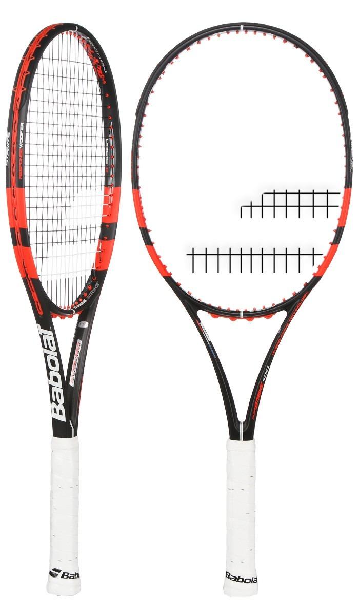 9042b03d5 raquete de tenis babolat pure strike 98 l2 16x19 encordoada. Carregando  zoom.
