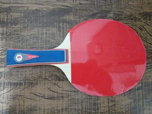 raquete de tenis de mesa com raqueteira