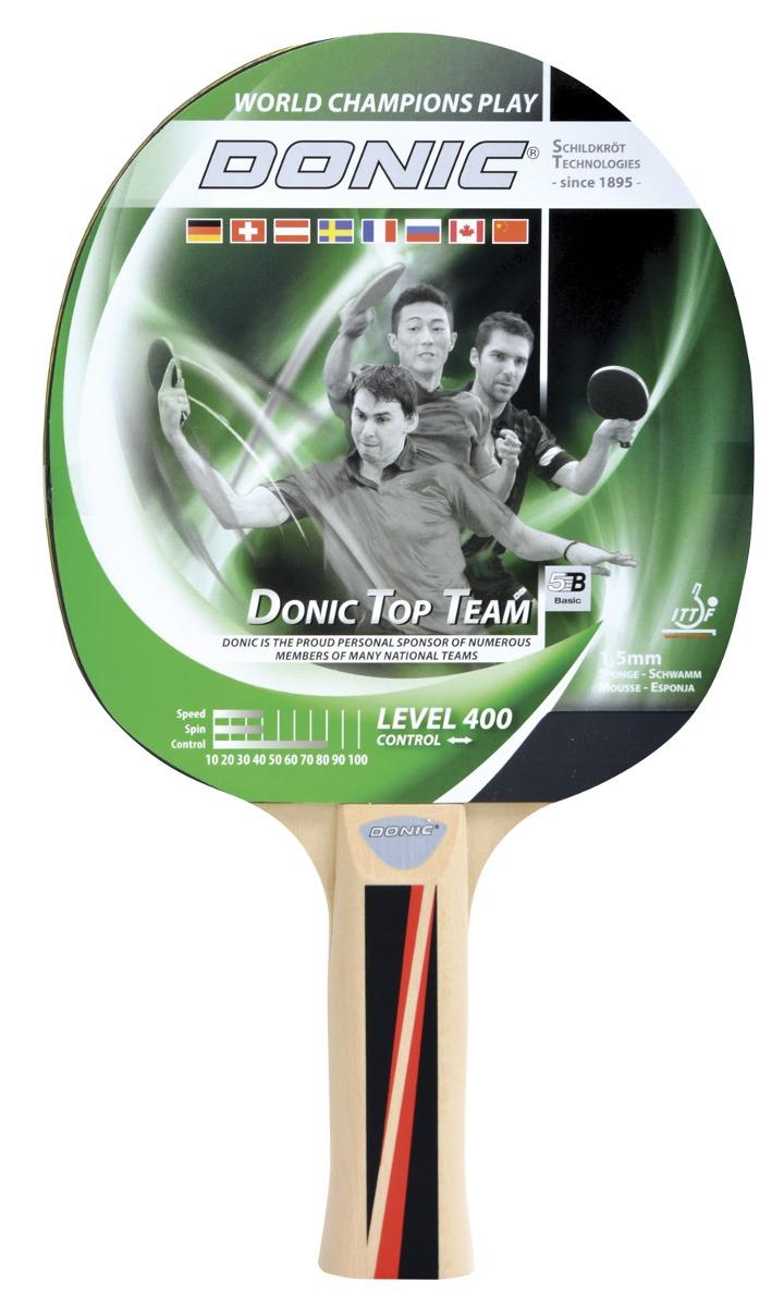 c0eb581c9 Raquete De Tenis De Mesa - Ping Pong Donic Level 400 - R  49