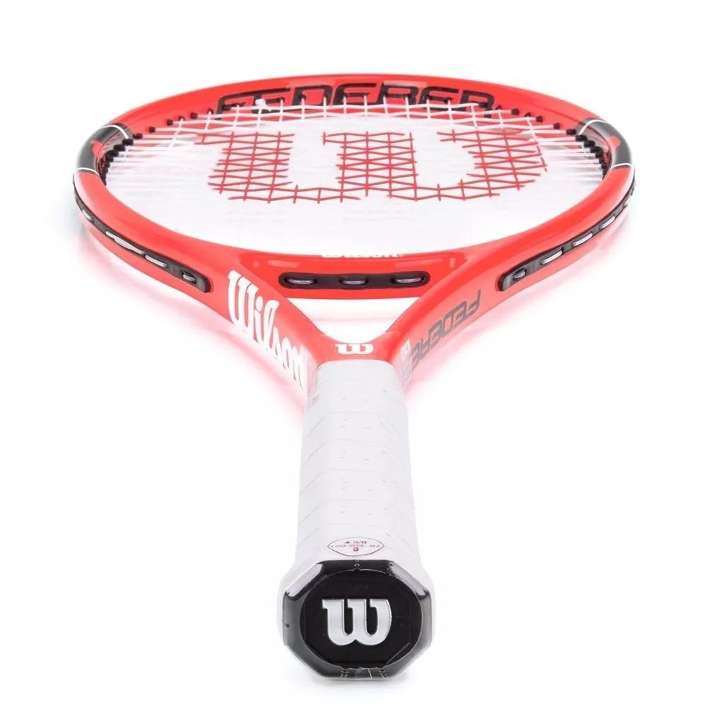 78c3de849 raquete de tenis wilson federer 100 iniciante para começar. Carregando zoom.