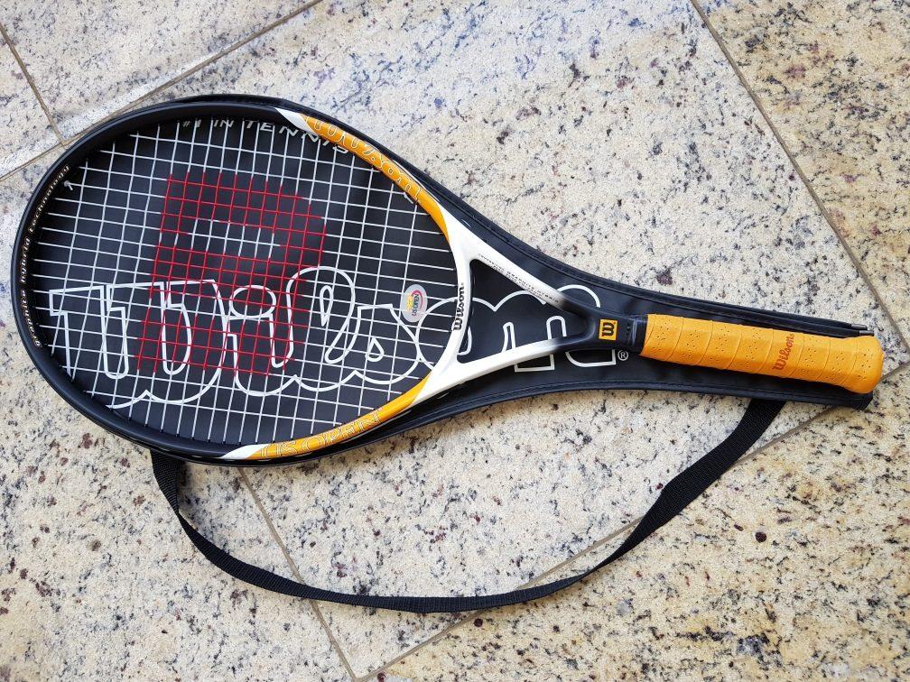 2d60dc807 raquete de tênis adulto wilson us open frete grátis. Carregando zoom.
