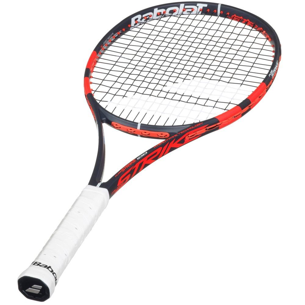 02012a025 Raquete De Tênis Babolat Pure Strike 100 L3 290g Encordoada - R  599 ...