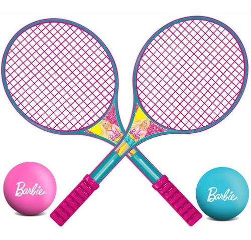 raquete de tênis - barbie - líder