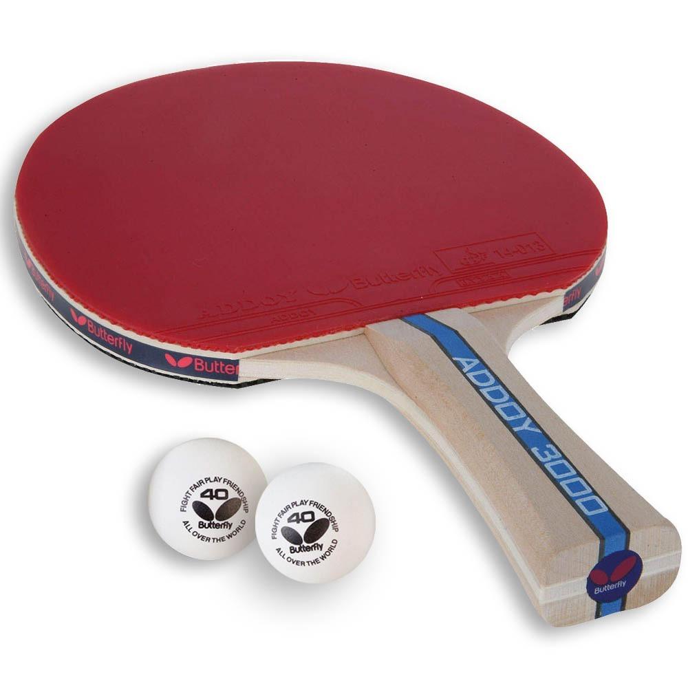 fe962397651 raquete de tênis de mesa butterfly addoy 3000 + brindes. Carregando zoom.