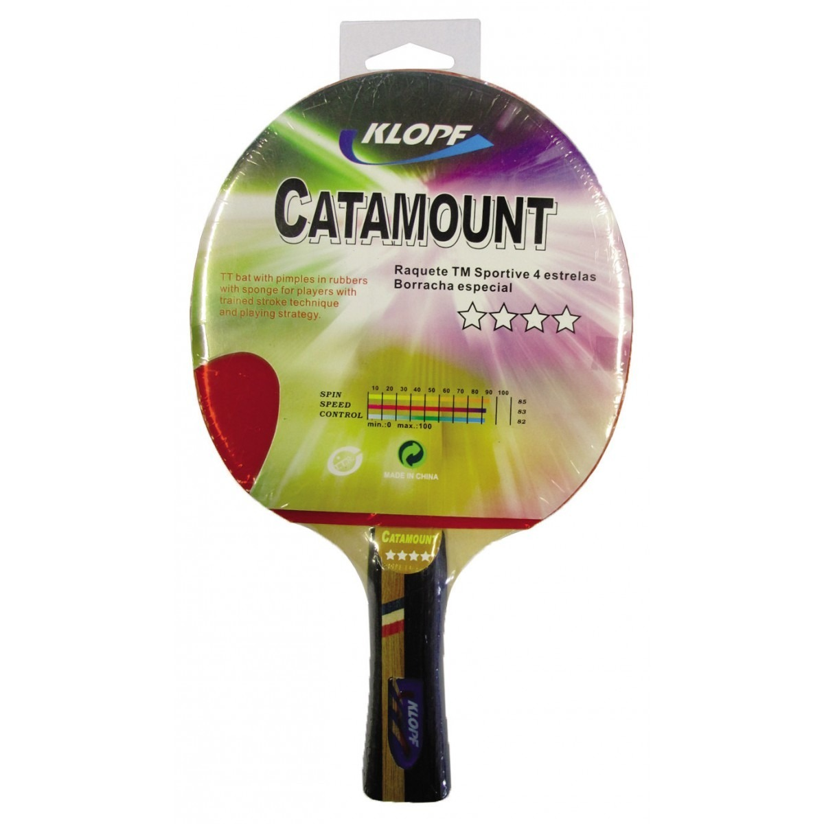 54213103c raquete de tênis de mesa catamount (4 estrelas) klopf. Carregando zoom.