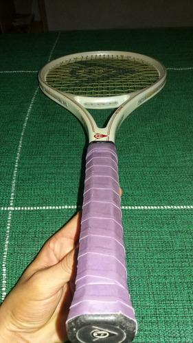 raquete de tênis dunlop 1991 pro ceramic // colecionador