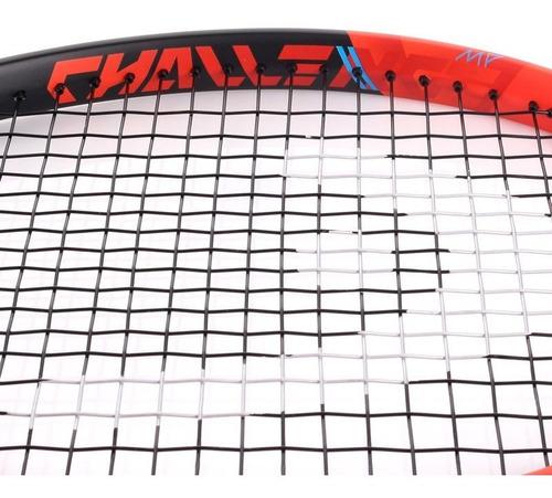 raquete de tênis head challenge mp - laranja - l3 (4 3/8)