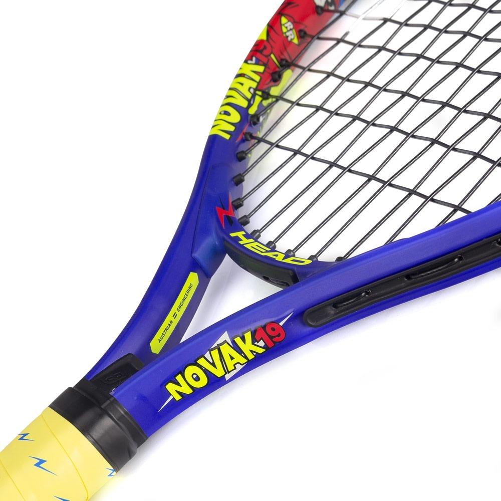 raquete de tênis head novak 19. Carregando zoom. 4f47ba09e93e4