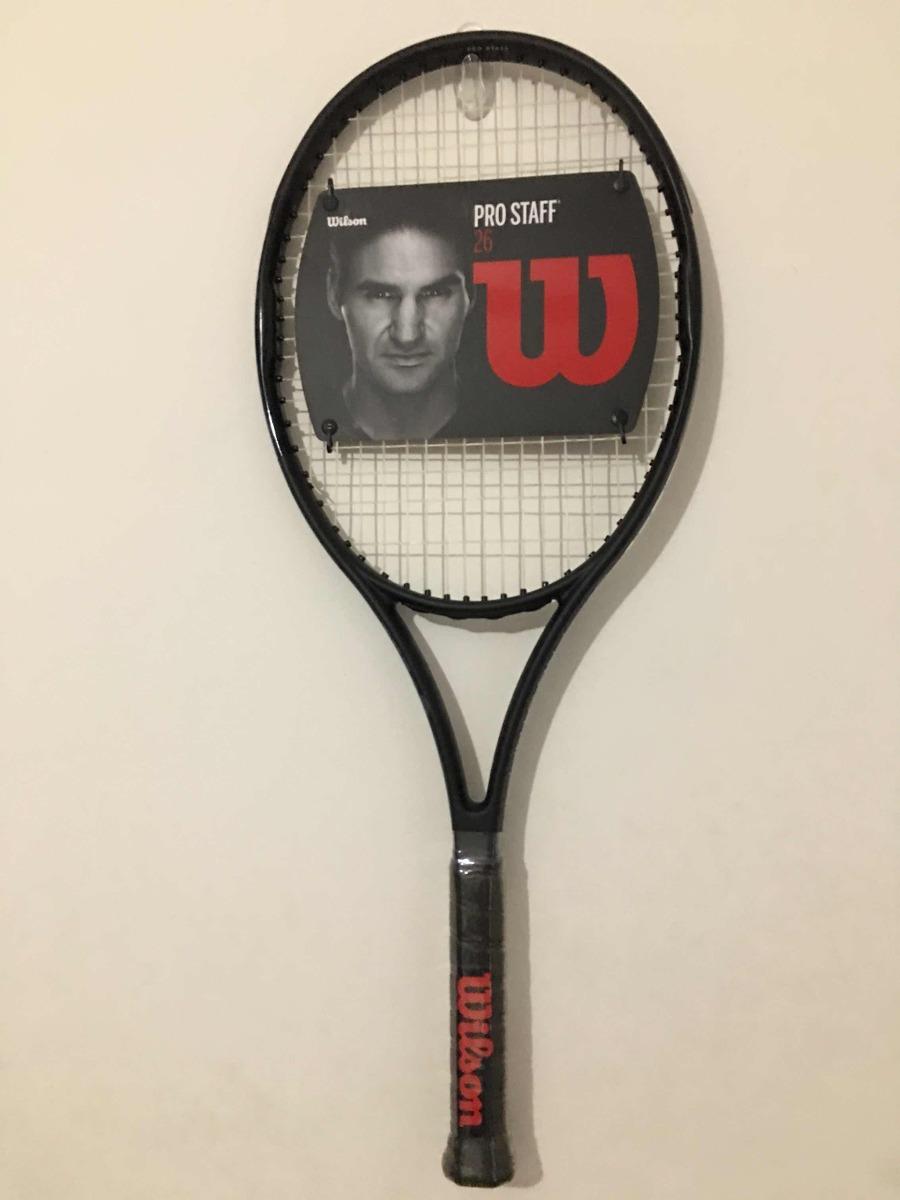 79bb888207 raquete de tênis wilson pro staff 26. Carregando zoom.