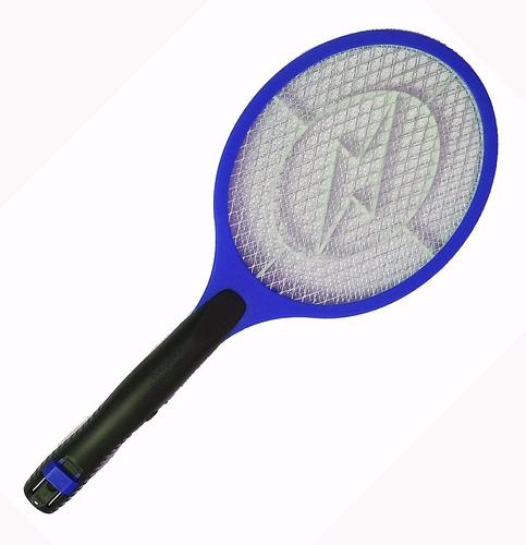 raquete eletrica mata moscas  recarregável kit c/8