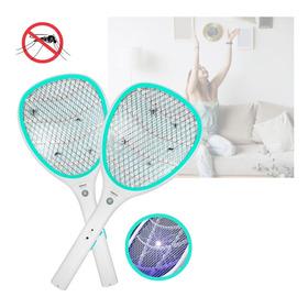 Raquete Eletrica Mata Mosquitos Pernilongo Recarregavel Orig