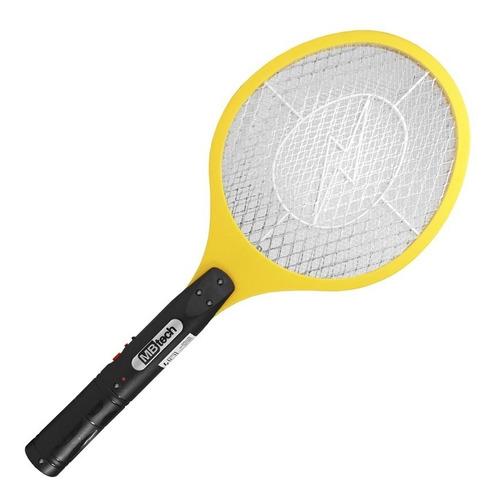 raquete mata mosquito pernilongo elétrica recarregável