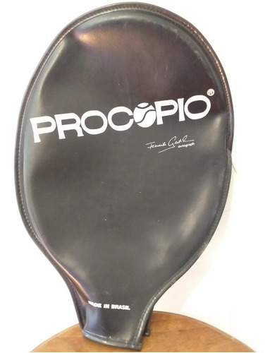 raquete relíquia procopio pro staff fernando gentil c/ capa