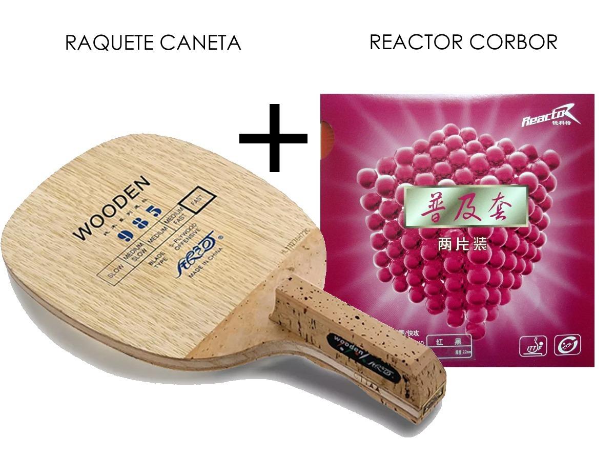 0ca2c542957 raquete tenis de mesa caneta profissional + 1 reactor corbor. Carregando  zoom.
