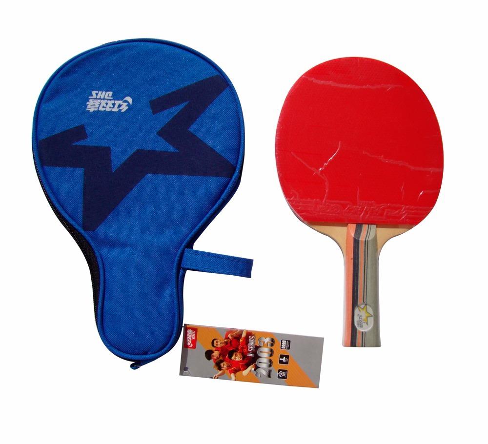 raquete tenis de mesa dhs 2003 com capa clássica. Carregando zoom. 30ed74945079b