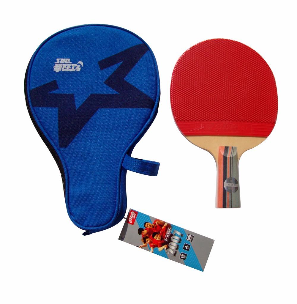 raquete tenis de mesa dhs 2007 + capa + 3 bolas butterfly. Carregando zoom. 7f7d6bf3999c8