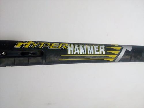 raquete wilson hyper carbon hammer 6.3