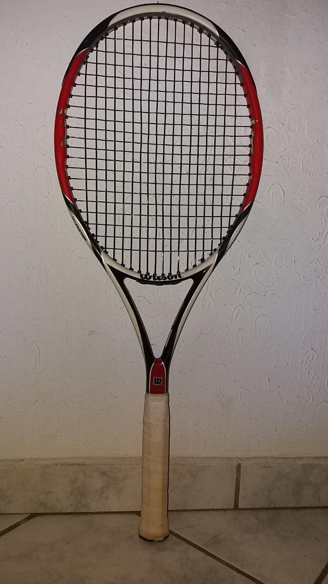 b00a69922 raquete wilson k factor six one team grip l3, cabeça 95. Carregando zoom.