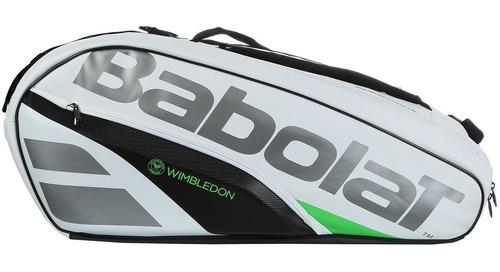 raqueteira babolat pure wimbledon rh x12 2018 - dual térmica