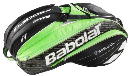 raqueteira babolat pure wimbledon rh x15 (big 95,4 litros)