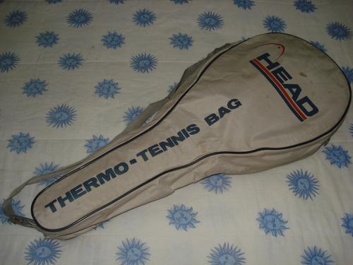 raquetero de tenis head retro vintage!