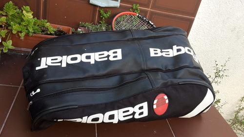 raquetero tenis babolat para 12 raquetas buen estado