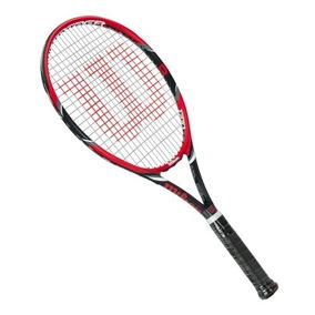 37ae96cb0 Raquete De Tenis Wilson Federer 110 295g Com Corda - Esportes e Fitness no  Mercado Livre Brasil