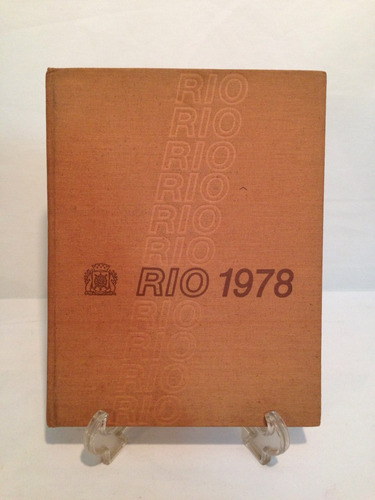 rara agenda de 1978 com fotos do rio de janeiro