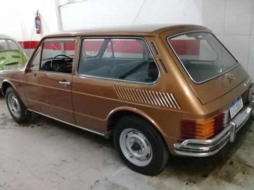 rara brasília 1974 única dona 64.000 kms originais coleção