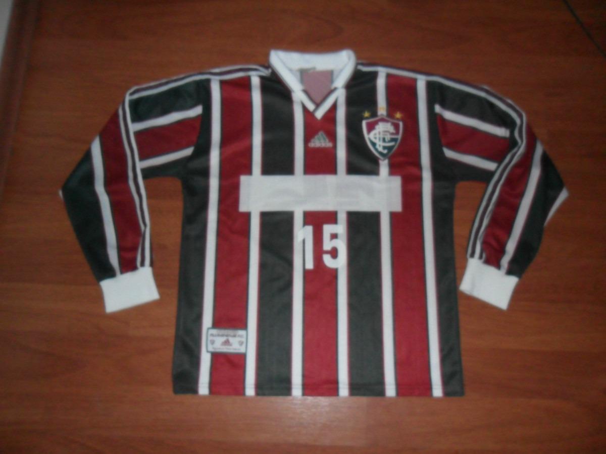 798c58c47a95c rara camisa adidas fluminense 1999 sem patrocínio nº 15 gg. Carregando zoom.