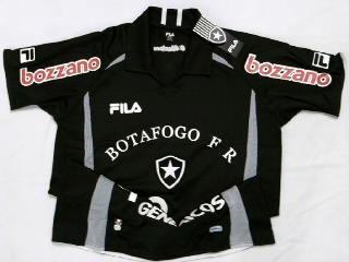 a1ae4fe952 Rara Camisa Botafogo Goleiro Oficial Fila 2010   2011 - R  129