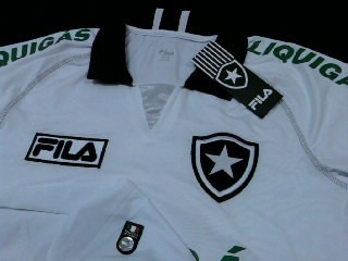 Rara Camisa Botafogo Nova  4 Oficial Fila 2009   2010 - R  130 84f364068fa31