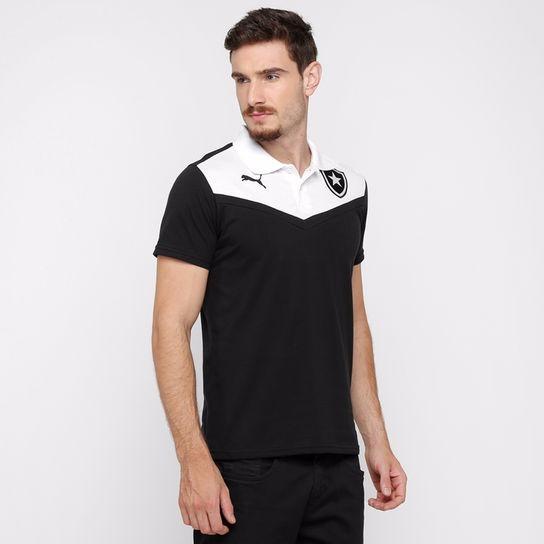 d36fb1b46 Rara Camisa Botafogo Puma Polo Viagem Oficial 2015 2016 Nova - R$ 89 ...