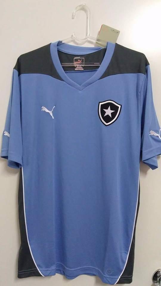 rara camisa botafogo uruguai treino oficial puma azul 2014. Carregando zoom. f95d0a898e37a